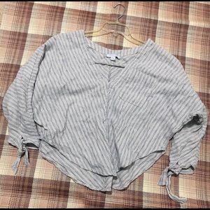 Q-Luv Long Sleeve Blouse